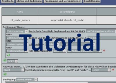 Tutorial: So funktioniert die Homematic WebUI-Logik